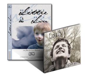 Le pack du CD «je vous Kiffe» et le DVD « Lettre à Lou »