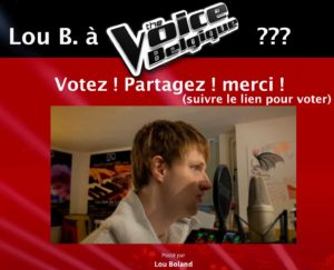 Lou B. à The Voice Belgique ?