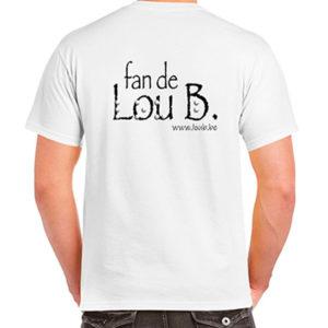T-Shirt «Je vous kiffe» blanc